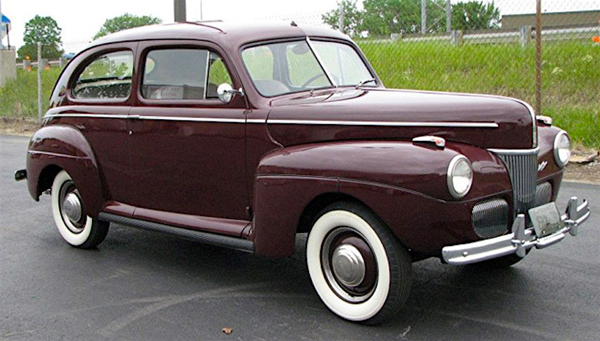 1941 ford two door deluxe st albert st albert 39 s for 1941 ford 4 door