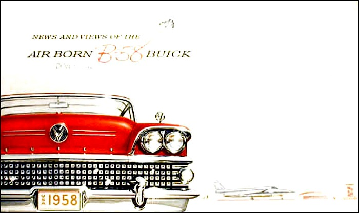real estate brochure cover. B58Buick-rochure-cover