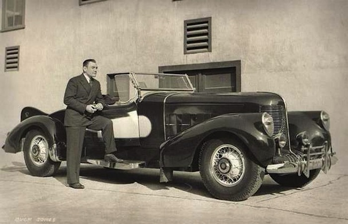 Old Movie Stars and Their Cars